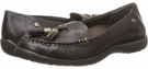 Dark Brown VIONIC with Orthaheel Technology Abbie Flat Loafer for Women (Size 7)