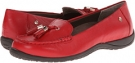 Red VIONIC with Orthaheel Technology Abbie Flat Loafer for Women (Size 7)