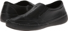 Black VIONIC with Orthaheel Technology Addison Twin Gore Slip On for Women (Size 7)