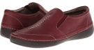 Merlot VIONIC with Orthaheel Technology Addison Twin Gore Slip On for Women (Size 7)