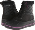 Black/Viola Crocs All Cast Waterproof Duck Boot for Women (Size 4)