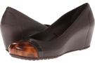 Cap Toe Tortoise Wedge Women's 4