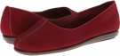 Dark Red Nubuck Aerosoles Sol Music for Women (Size 5)