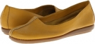 Dark Yellow Leather Aerosoles Sol Music for Women (Size 5)