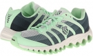Charcoal/Patina Green K-Swiss Tubes 100 P for Women (Size 7)