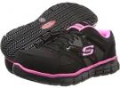 Black/Pink SKECHERS Work Synergy - Sandlot for Women (Size 7.5)