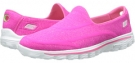 Hot Pink SKECHERS Performance Go Walk 2 - Supersock for Women (Size 5)