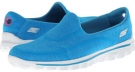 Turquoise SKECHERS Performance Go Walk 2 - Supersock for Women (Size 5)