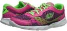 Hot Pink/Green SKECHERS Performance Go Run Sonic for Women (Size 7.5)