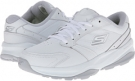 White/Silver SKECHERS Performance Go Fit Ace for Women (Size 7.5)