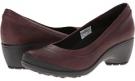 Burgundy Merrell Veranda for Women (Size 5)