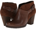 Brown Leather/Brown Suede Clarks England Mission Parker for Women (Size 5.5)