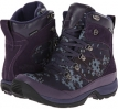 Camo The North Face Chilkat Nylon (Dark Eggplant Purple/Greystone Blue for Women (Size 5)