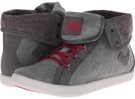 Base Camp Roll-Down (High Rise Grey/Cerise Pink Women's 5.5