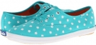 Turquoise Keds Champion Starburst for Women (Size 9.5)