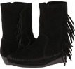 Side Fringe Wedge Boot Women's 5.5