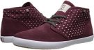Maroon DC Studio Mid LTZ 2 LE for Women (Size 7)