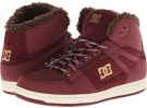 Maroon DC Rebound High WNT for Women (Size 7)