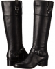 Black Leather Bandolino Cranne for Women (Size 5.5)