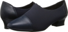 Navy Nappa/Micro David Tate Marina for Women (Size 5)