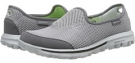 Charcoal SKECHERS Performance Go Walk - Rival for Women (Size 5)
