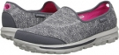 Gray SKECHERS Performance Go Walk - Minx for Women (Size 7.5)