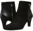 Black Suede Bandolino Woodford for Women (Size 5.5)