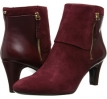 Wine Suede Bandolino Woodford for Women (Size 5.5)