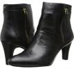 Black/Black Leather Bandolino Woodford for Women (Size 5.5)