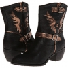 Metallic Wing Ankle Boot Women's 7