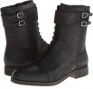 Alanda Brogue Boot Lace-up w/ Double Strap Women's 5.5