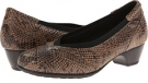 Taupe Snake Aravon Patsy for Women (Size 10)