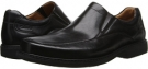 Black Leather Clarks England Gatewood Step for Men (Size 8.5)