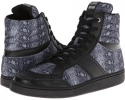Just Cavalli Python Leather Hi-Top Trainer Size 10