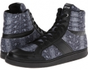 Just Cavalli Python Leather Hi-Top Strap Trainer Size 6