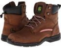 6 Lightweight Lace-Up Steel Toe Women's 7