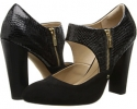 Black King Suede/Snake Print Isola Tace for Women (Size 7)