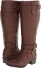Cognac Gabriella Rocha Milo Extra Wide Calf for Women (Size 12)