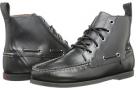 Black Smooth Pull Up Polo Ralph Lauren Barrott for Men (Size 10.5)