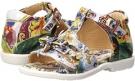 Dolce & Gabbana Graphic Print T-Strap Sandal Size 5.5