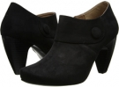 Black Suede Gabriella Rocha Indy Button for Women (Size 5.5)