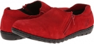 Red Leather Lobo Solo Monet for Women (Size 7)