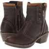 Chocolate Leather Lobo Solo Alice for Women (Size 7)