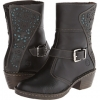 Black Leather Lobo Solo April for Women (Size 5)