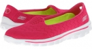 Hot Pink SKECHERS Performance Go Walk 2 - Axis for Women (Size 5)