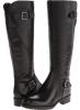 Black Leather Franco Sarto Perk for Women (Size 7)