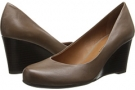 Taupe Leather Franco Sarto Rina for Women (Size 7)
