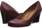 Wine Leather Franco Sarto Rina for Women (Size 7)