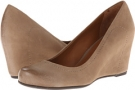 Taupe Leather Franco Sarto Olivia for Women (Size 7)