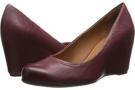 Wine Leather Franco Sarto Olivia for Women (Size 7)